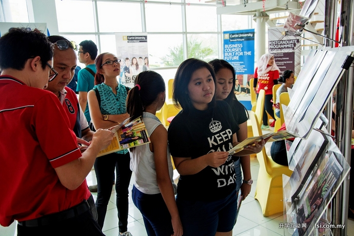 Future students can find out more about studies at Curtin Sarawak.